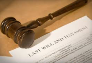 setting up a will